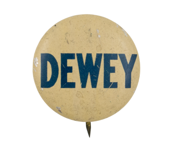 Dewey Political Button Museum