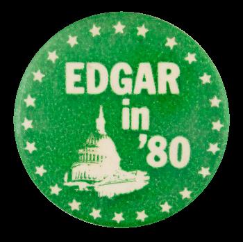Edgar in '80 Political Button Museum