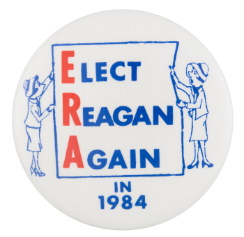 Elect Reagan Again in 1984 Political Button Museum