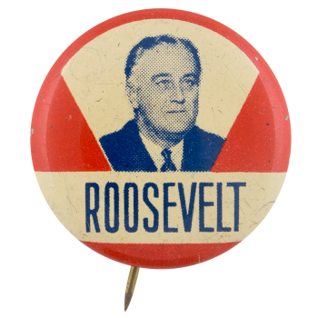 Franklin D Roosevelt Political Button Museum