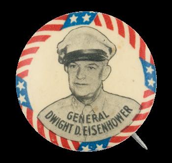 General Dwight D. Eisenhower Political Button Museum