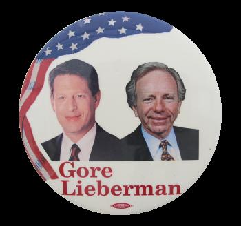 Gore Lieberman Political Button Museum