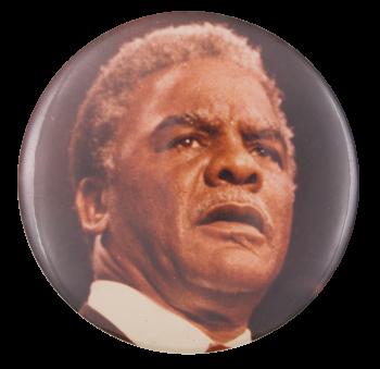 Harold Washington Photograph Political Button Museum