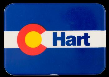 Hart Colorado Political Button Museum