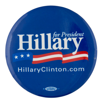 Hillary for President Political Button Museum
