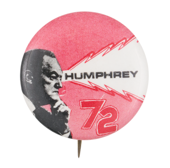 Humphrey 72 Political Button Museum