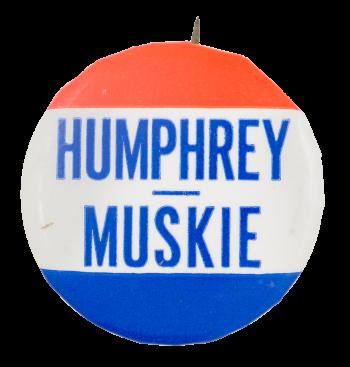 Humphrey Muskie Political Button Museum