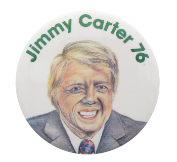Jimmy Carter 76 Political Button Museum