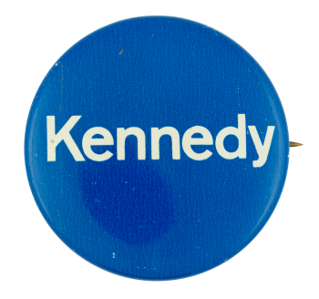 Kennedy Blue Political Button Museum