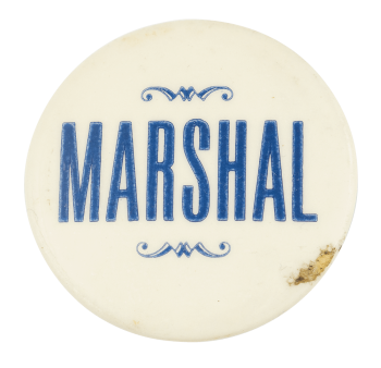 Marshal Political Busy Beaver Button Museum