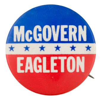 McGovern Eagleton Political Button Museum