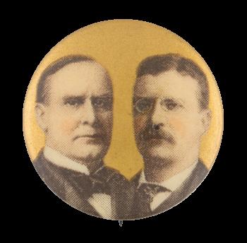McKinley Roosevelt Political Button Museum