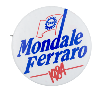 Mondale Ferraro 1984 Political Button Museum