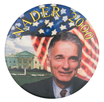 Nadar 2000 Political Button Museum