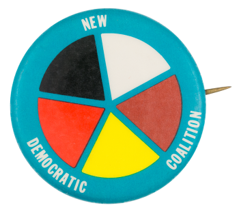 New Democratic Coalition Political Button Museum