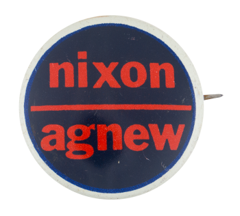 Nixon Agnew Political Button Museum