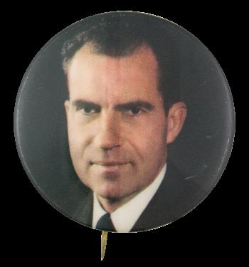 Nixon Portrait Political Button Museum