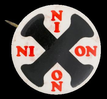 Nixon X Political Button Museum