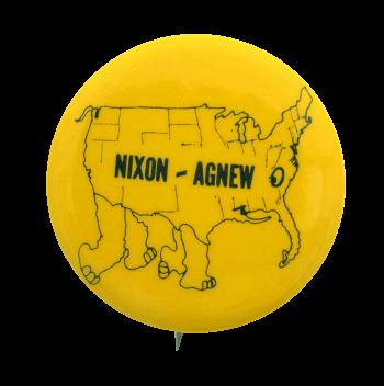 Nixon - Agnew Political Button Museum