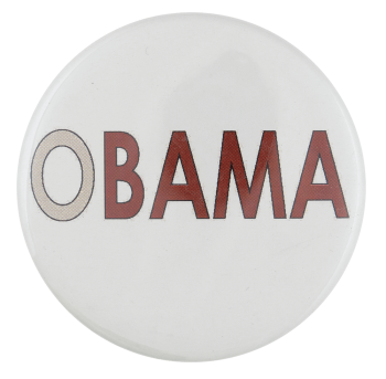 O Obama Political Busy Beaver Button Museum