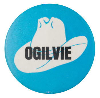Ogilvie Hat Political Button Museum