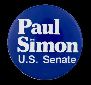 Paul Simon U.S. Senate Political Button Museum
