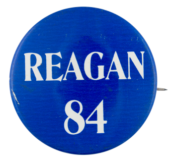 Reagan '84 Political Button Museum