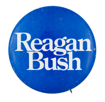 Reagan Bush Political Button Museum