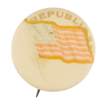 Republican Flag Political Button Museum