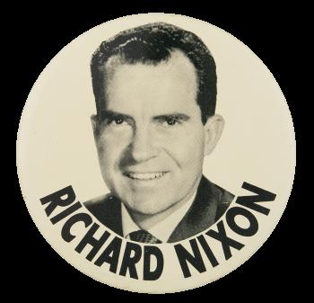 Richard Nixon Political Button Museum