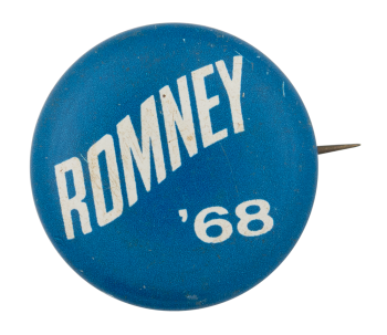 Romney 1968 Political Button Museum