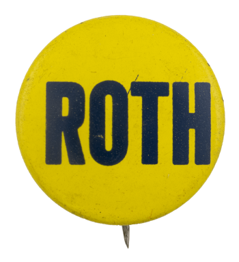 Roth Political Busy Beaver Button Museum