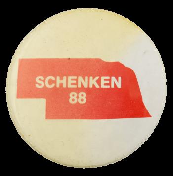 Schenken 88 Political Busy Beaver Button Museum