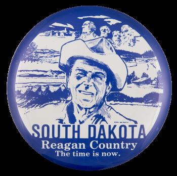 South Dakota Reagan Country Political Button Museum