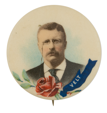 Theodore Roosevelt Political Button Museum