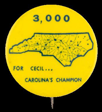 3000 for Cecil Political Button Museum