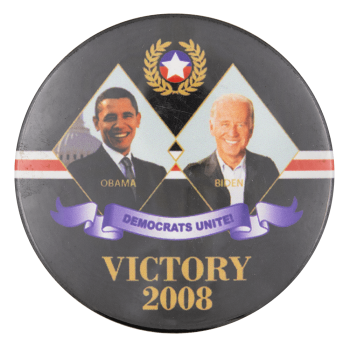Victory 2008 Political Button Museum