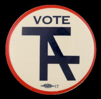 Vote Taft Political Button Museum