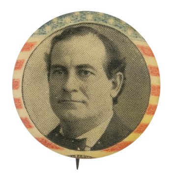 William Jennings Bryan Campaign Button Political Button Museum