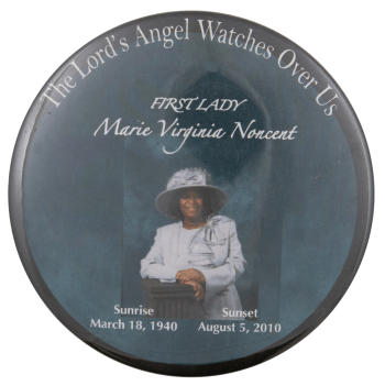 Marie Virginia Noncent Event Busy Beaver Button Museum