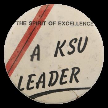 A KSU Leader School Busy Beaver Button Museum