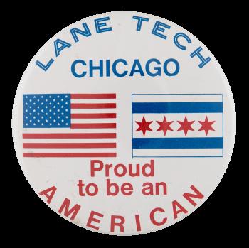 Lane Tech Proud Schools Button Museum