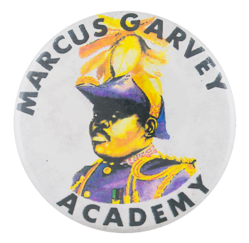 Marcus Garvey Academy Schools Button Museum