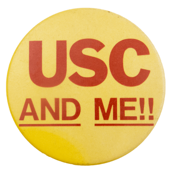 USC And Me!! School Busy Beaver Button Museum