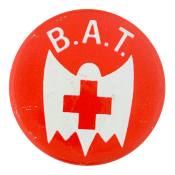BAT Red Cross Social Lubricators Button Museum