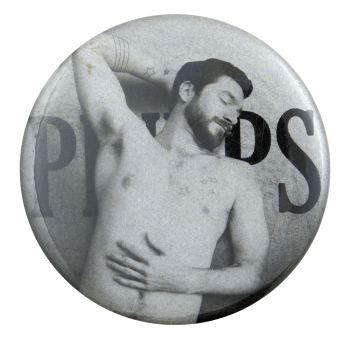 Pinups Shirtless Man Ice Breakers Busy Beaver Button Museum