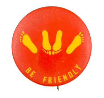 Be Friendly Ice Breakers Button Museum