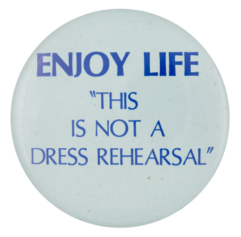 Enjoy Life Social Lubricators Button Museum