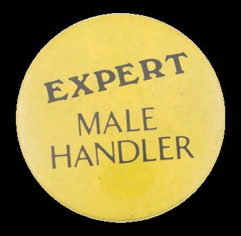 Expert Male Handler Social Lubricators Button Museum