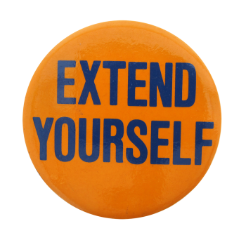 Extend Yourself Ice Breakers Button Museum
